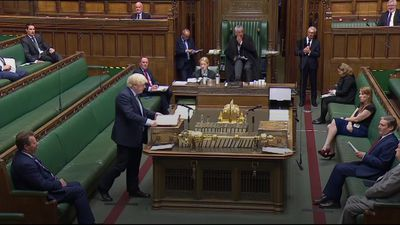 Johnson and Starmer pay tribute to George Floyd during PMQs