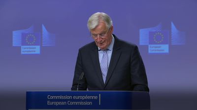 Barnier: UK are backtracking on Brexit declaration