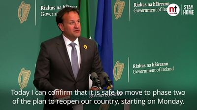 Varadkar announces acceleration of Ireland's lockdown exit plan