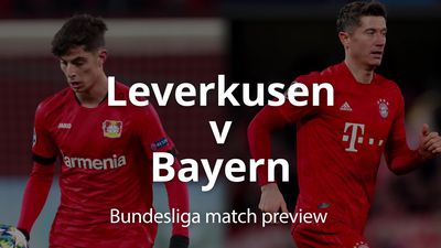 Bundesliga match preview: Leverkusen v Bayern Munich