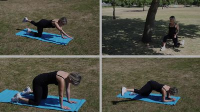 How to perform a 15-minute energy boosting pregnancy workout with Laura Williams