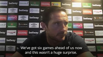 Lampard: This was not a surprise result