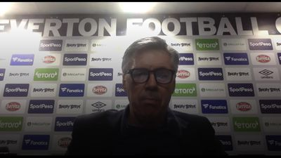 Everton 2-1 Leicester: Carlo Ancelotti press conference