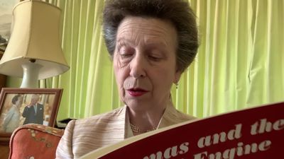 Princess Royal reads for Save The Children