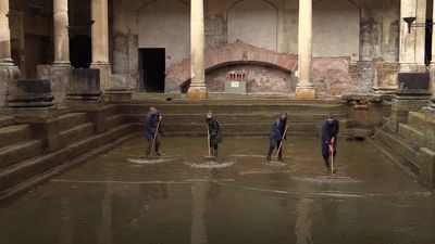 Roman Baths prepare to reopen in England