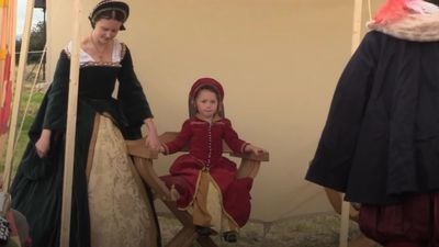 Meet the young family who attend historical reenactments