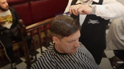 Belfast barbershop reopens just after midnight