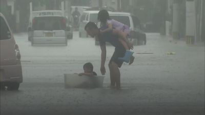 Death toll rises in Japan flooding