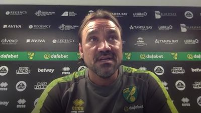 Daniel Farke accepts Norwich are heading for the Championship