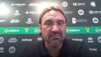 Daniel Farke reacts to Norwich relegation
