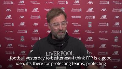 Klopp: City FFP verdict 'not good' for football