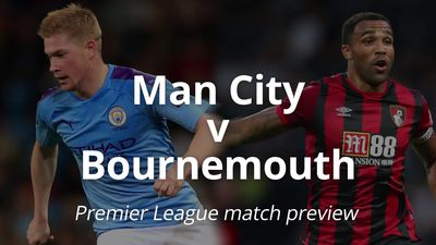 Man City v Bournemouth: Premier League match preview