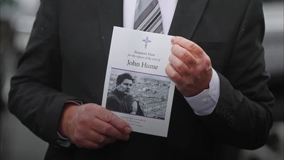 John Hume 'made peace visible during darkest moments'