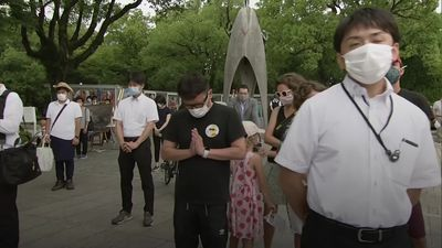 Survivors mark 75th anniversary of Hiroshima bomb