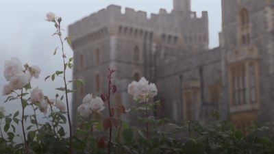Windsor Castle opens the East Terrace Garden for the first time in decades