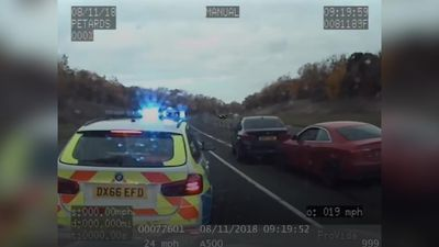 High-speed car chase dubbed 'one of worst cases of dangerous driving' ever seen by officers