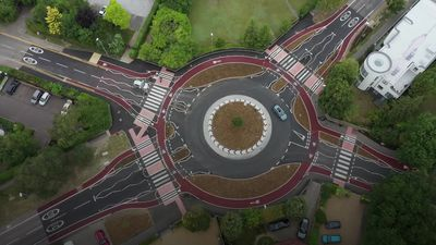 UK's first Dutch-style roundabout introduced