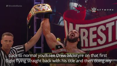 Britain's first WWE champion Drew McIntyre planning UK trip to show off title