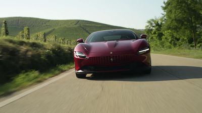 Ferrari takes aim at Aston Martin with new Roma