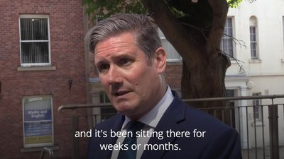 Sir Keir Starmer condemns changes to how exams are decided as 'shambolic'