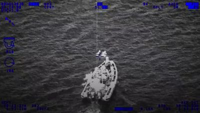 RNLI crew saves two children from floating out to sea