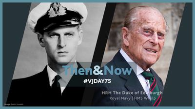 'Then and now' veteran photos to be broadcast around country to mark 75th anniversary of VJ Day