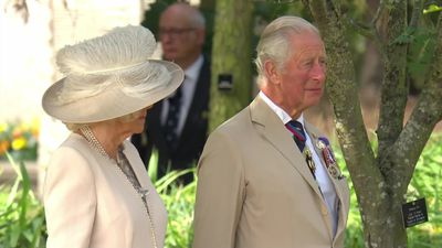VJ Day: Prince of Wales and PM lead memorial event