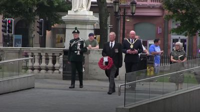 Lord Mayor of Belfast laments Covid-19 crowd restrictions at VJ Day memorial