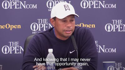 Tiger Woods: I never thought I'd play the Open again