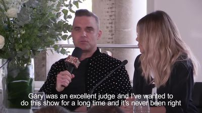 Robbie Williams: I'll be asking Gary Barlow for X Factor tips