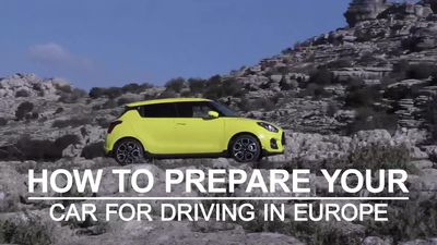 How to prepare your car for driving in Europe