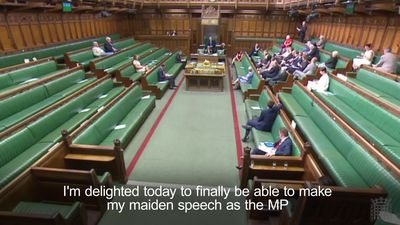 Jared O'Mara thanks MPs for their patience in maiden speech