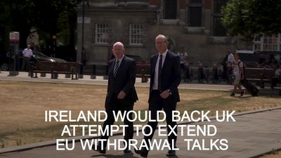 Ireland would back UK attempt to extend EU withdrawal talks