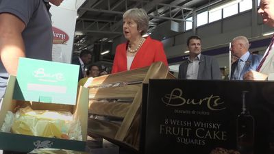 Brexit 'a real opportunity' for agricultural sector, May tells farmers