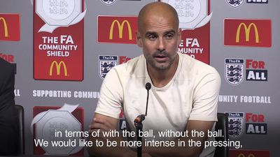 Pep Guardiola proud of players after Community Shield win