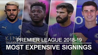 Premier League transfer window: Top 10 most expensive signings