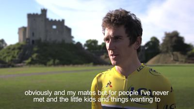 Thousands turn out to celebrate Geraint Thomas' Tour de France success