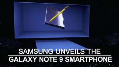 Samsung unveils new Galaxy Note 9 smartphone