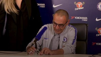 Sarri says Eden Hazard is very happy at Chelsea