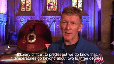 We need to take climate change very seriously, warns astronaut Tim Peake