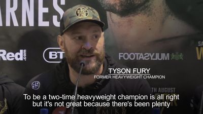 Tyson Fury: I want to be a five-time heavyweight champion