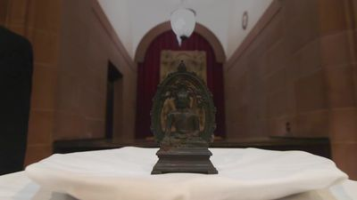 12th century stolen Buddha statue returned 57 years later