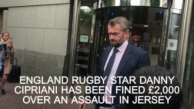 Rugby star Danny Cipriani fined over Jersey bar assault
