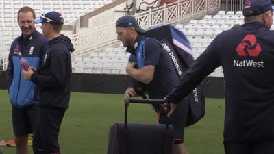 Ben Stokes returns to England training