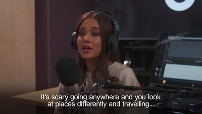 Ariana Grande reflects on Manchester attack