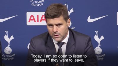 Pochettino: Spurs back-ups can leave or wait until I am sacked