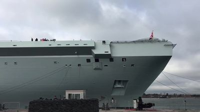 New Royal Navy aircraft carrier 'well protected' from Russia threat
