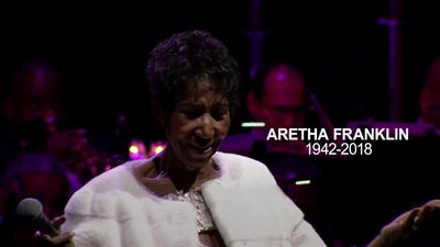 Aretha Franklin's last performance