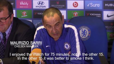 Chelsea manager reveals Arsenal clash left him wanting to smoke