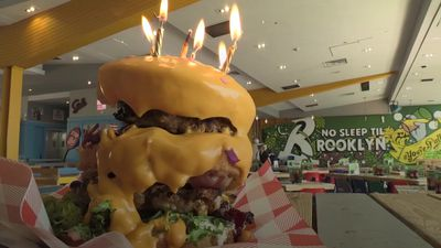 National Burger Day: Introducing the 'Cake Burger'